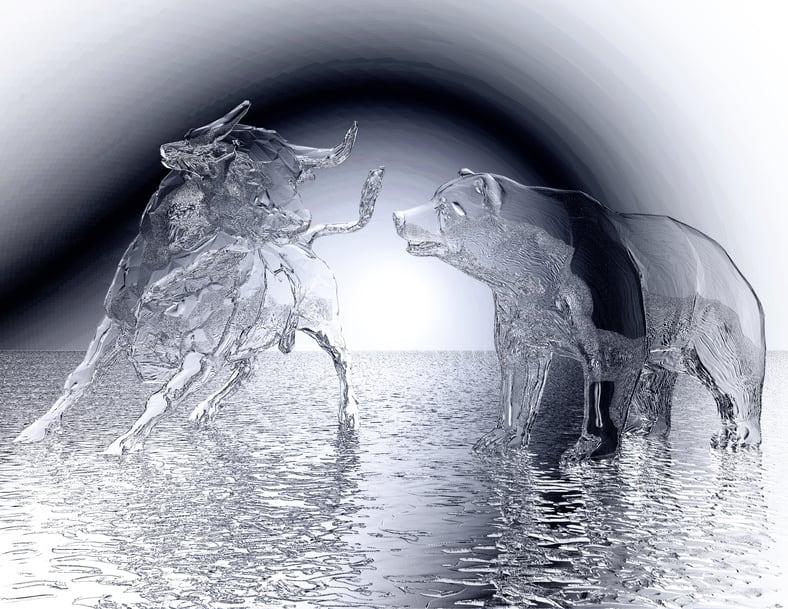 Bullen aus Glas